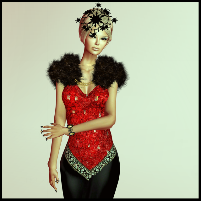 isabel gown red xmas edition_006b