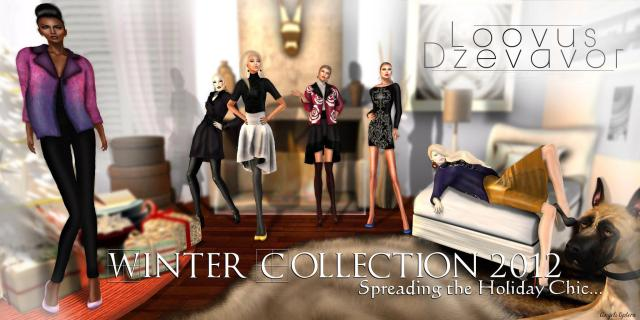 Winter Collection 2012 for Loovus Dzevavor