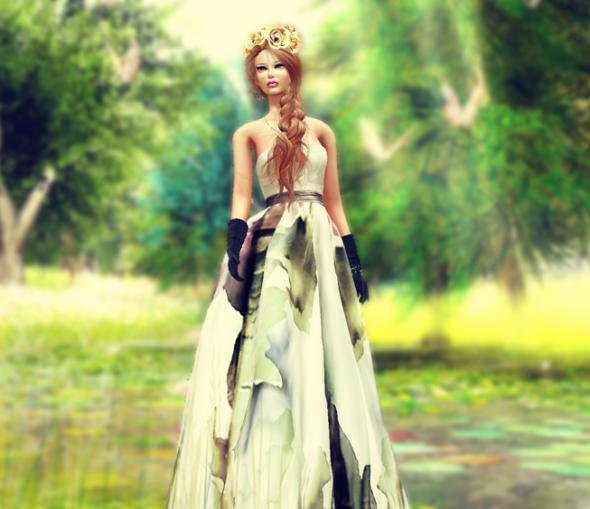 brown floral_007c